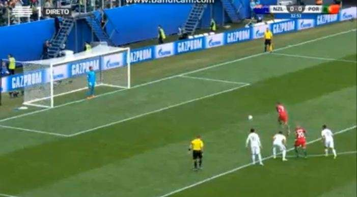 Penallti për Portugalinë  çfarë bëri Ronaldo