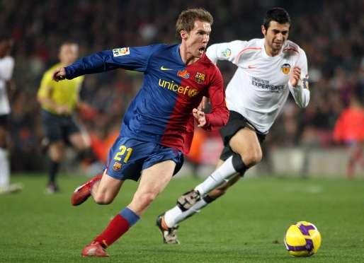 Hleb critica a Messi y elogia a Cristiano