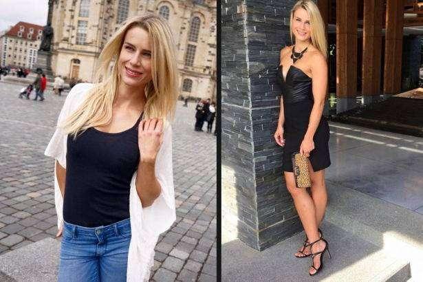 Geile deutsche Blondine bewirbt sich zum Pornocasting mit schwarzem Schwanz