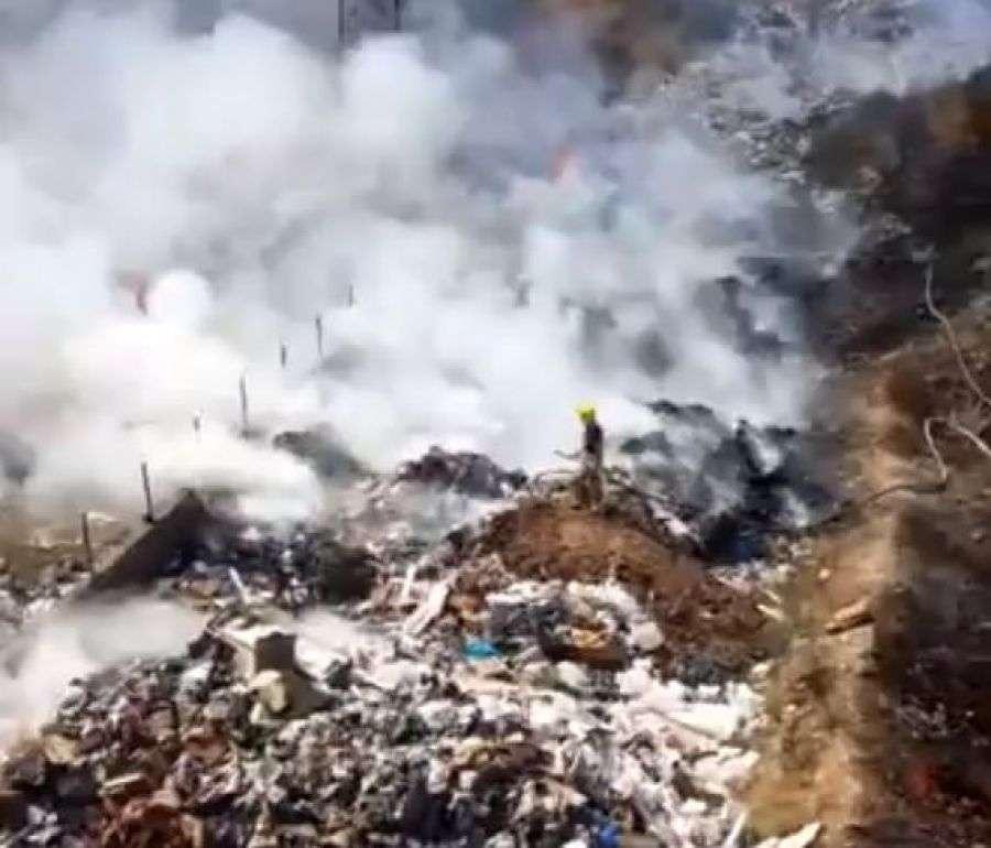 Zjarri në deponinë e mbeturinave në Tetovë i dëmshëm për gjeneratat e ardhshme