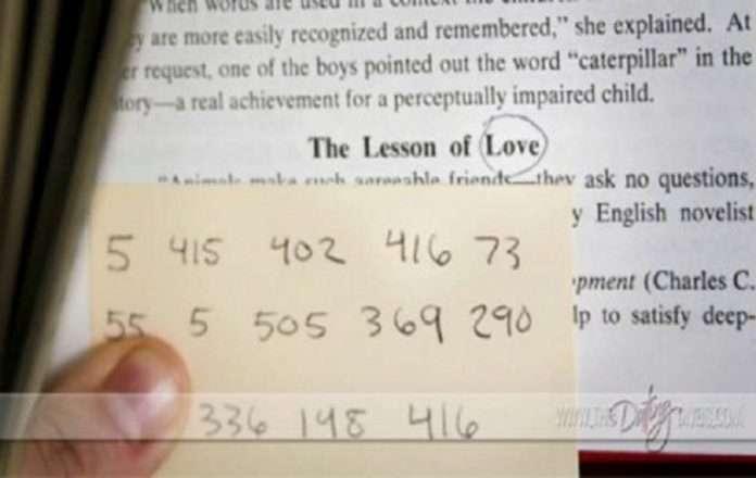 Numerologjia e dashurisë