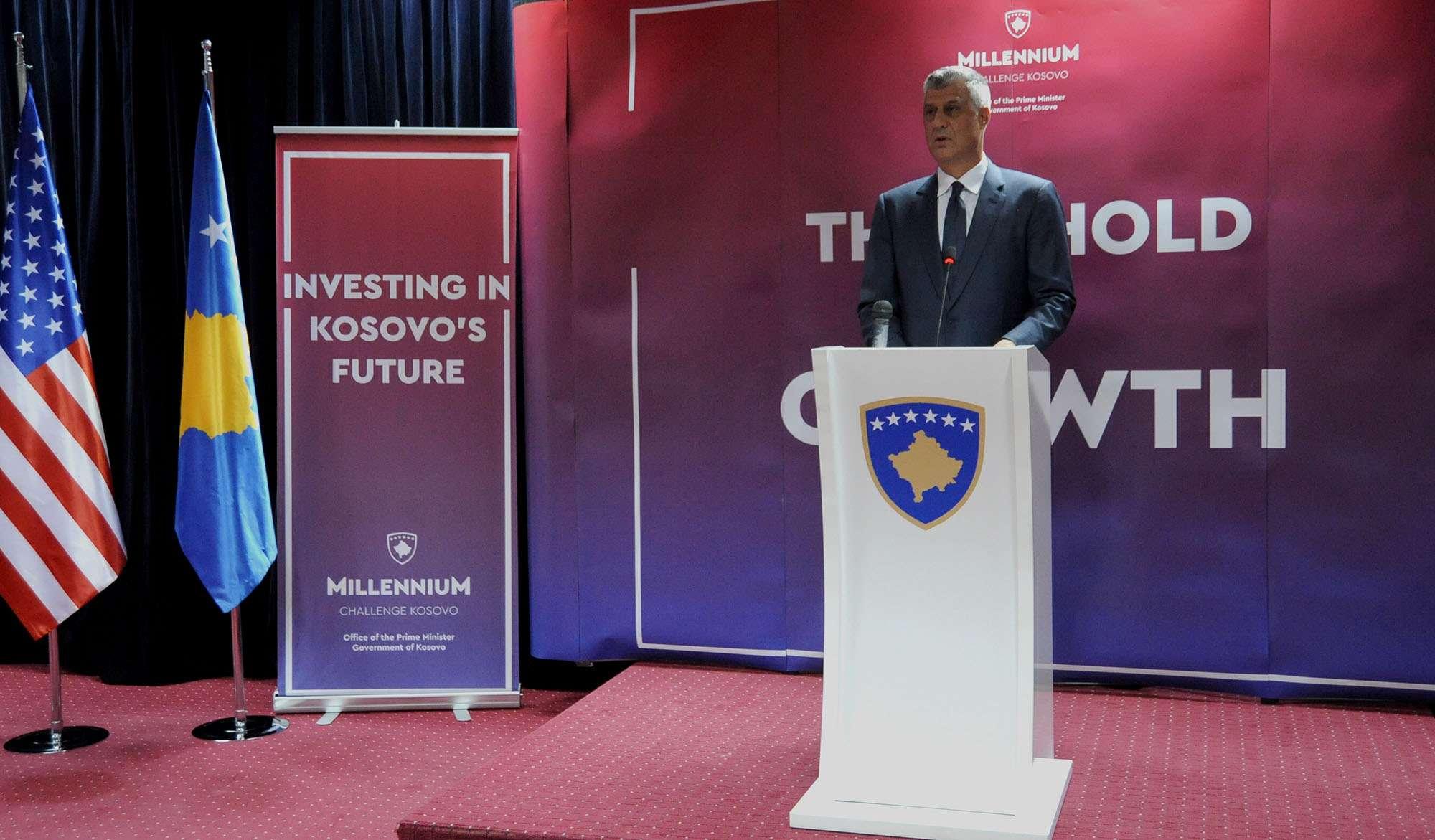 Thaçi  Miqësia e madhe që ka Kosova me SHBA të do të qëndroj e fortë