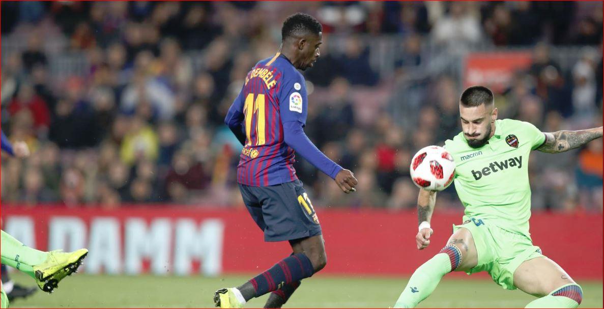 Dembele arrin atë që asnjë lojtar i Barcelonës nuk e ka arritur