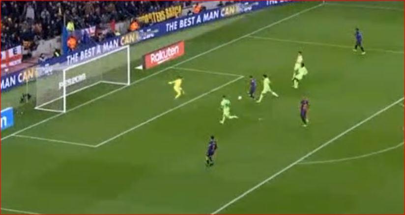 Barca thyen Levanten  shënon Lionel Messi