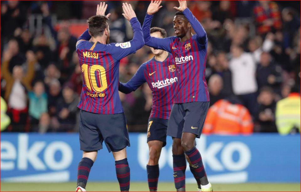 Barcelona përmbysë Levanten në  Camp Nou   kalon në fazën tjetër të Copa del Rey