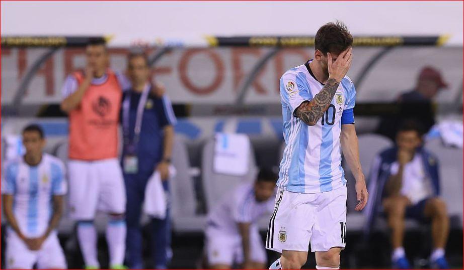 Messi e Argjentina e nisin mbrapsht  mposhtën në ndeshjen e parë nga Kolumbia