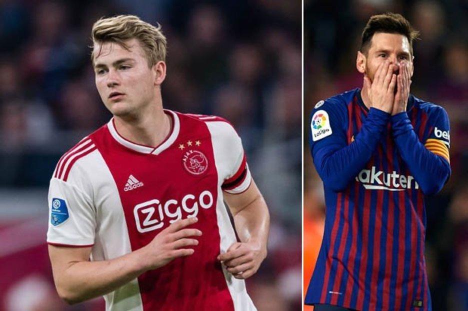 Messi bllokoi transferimin e De Ligt te Barca   Është mendjemadh
