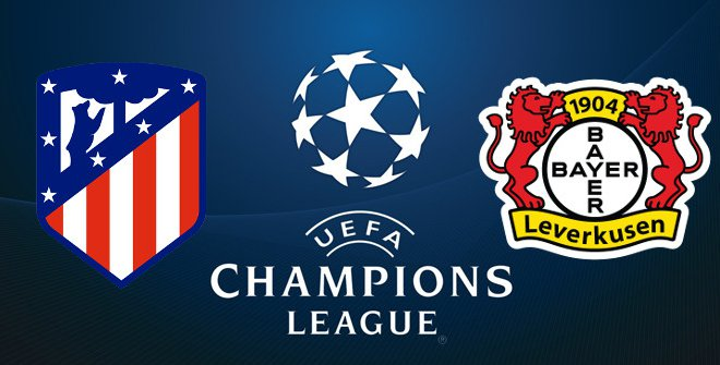 Formacionet zyrtare  Atletico Madrid   Bayer Leverkusen