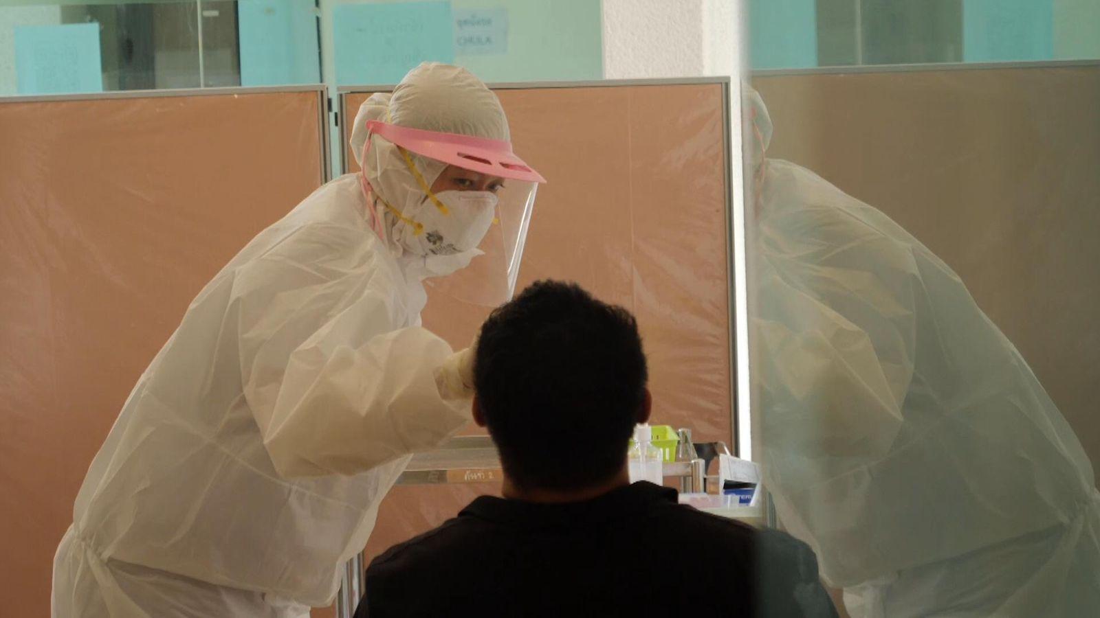 Koronavirusi: Tajlanda provon testin e ri 15-minutësh për Covid-19