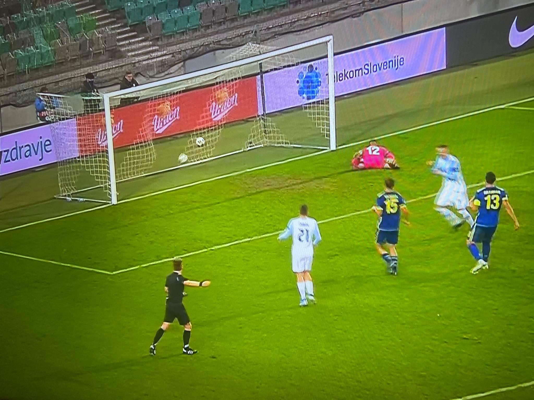 Kosova mposhtet në Slloveni nga një penallti në fund të lojës
