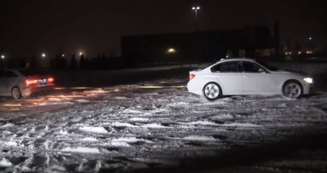 BMW kundër Audi në borë, shikoni cila fiton