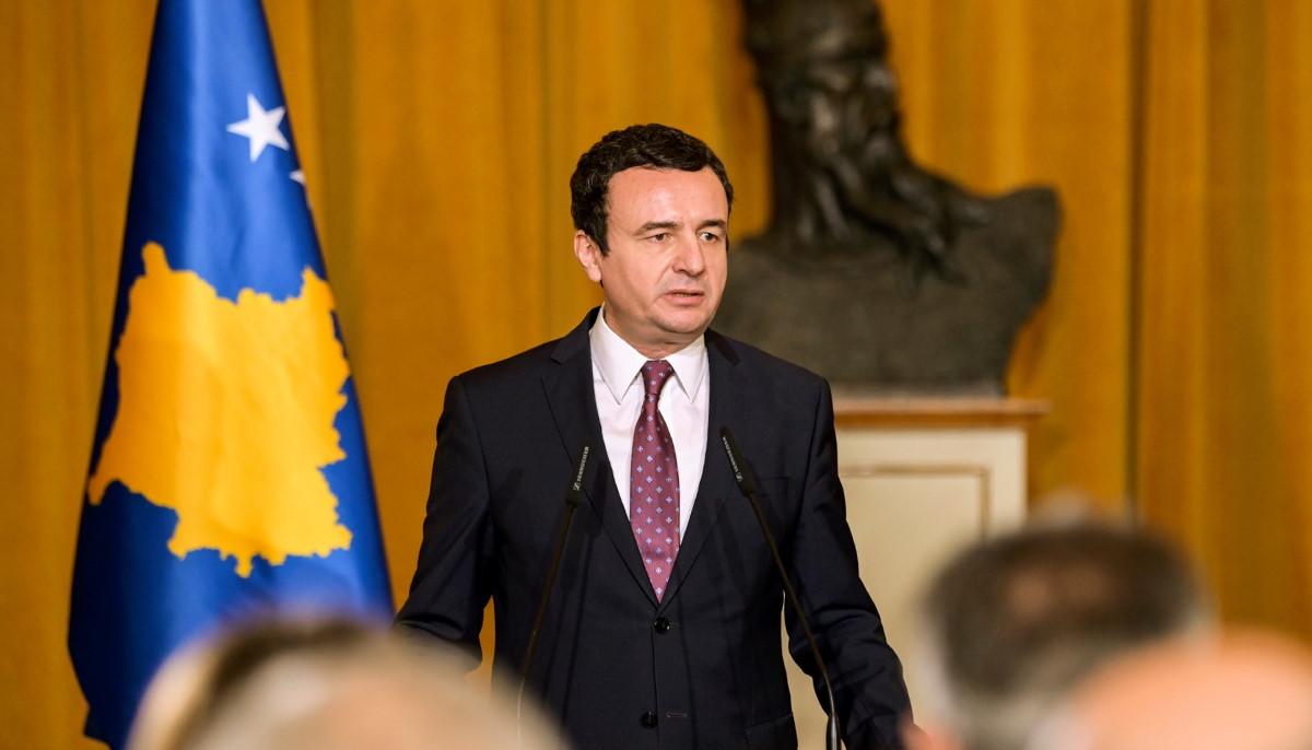Kurti me diskurs të njëjtë edhe për 28 nëntor, thotë se sovraniteti i Kosovës s'është përmbushur ende