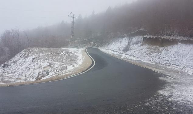 Reshjet e para të borës në Korçë