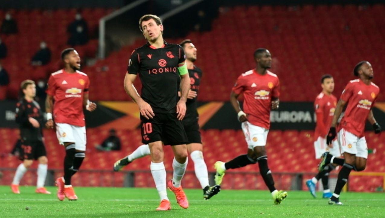 Manchester United avancon tutje, eliminon Real Sociedadin nga EL