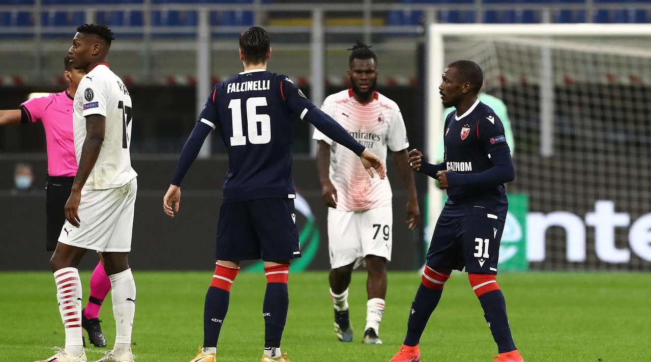 Milani avancon tutje me vështirësi, eliminoi Crvena Zvezdan